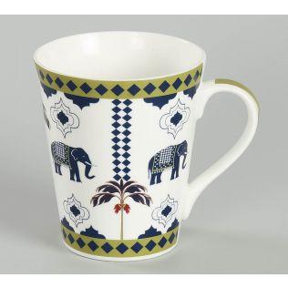 India Circus Earthy Symmetry Zing Mug Set of 2