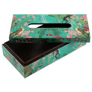 India Circus Animal Kingdom Tissue Box Holder