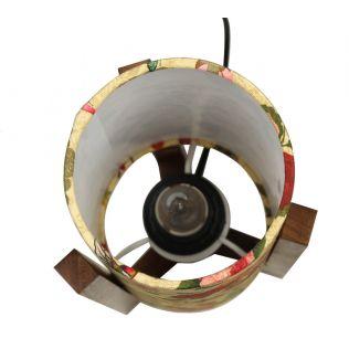 India Circus Bird Land Cylindrical Lamp