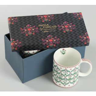 India Circus Blooming Dahlia Coffee Mug