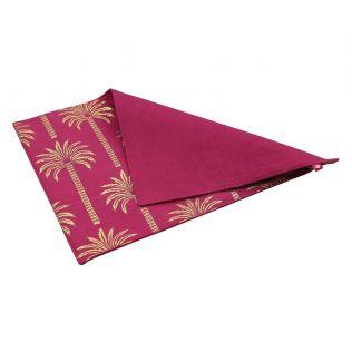 India Circus Blushed Palmeria Table Mat
