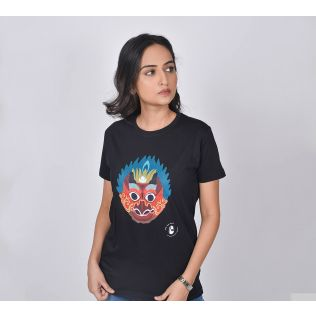 India Circus by Krsnaa Mehta Barong play Unisex Extra Small T-Shirt