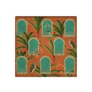 India Circus by Krsnaa Mehta Heron's Palace Canvas Wall Art