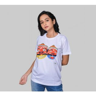 India Circus by Krsnaa Mehta Kukana's Mischief Unisex T-Shirt