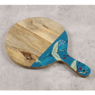 India Circus by Krsnaa Mehta Legend of the Cranes Chopping Board