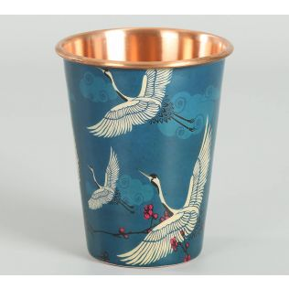 India Circus by Krsnaa Mehta Legend of the Cranes Copper Tumbler