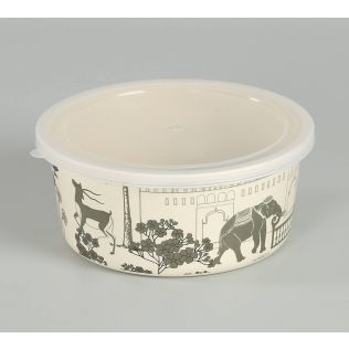 India Circus by Krsnaa Mehta Palatial Courtyard Small Container set of 2