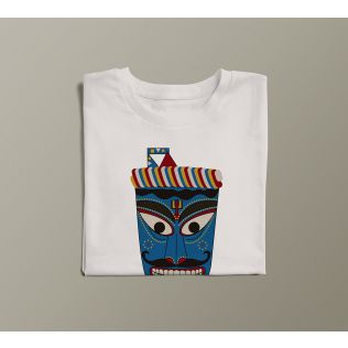 India Circus by Krsnaa Mehta Veiled by Art Unisex Extra Small T-Shirt