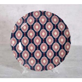 India Circus Curved Mirror Creeper Decor Plate