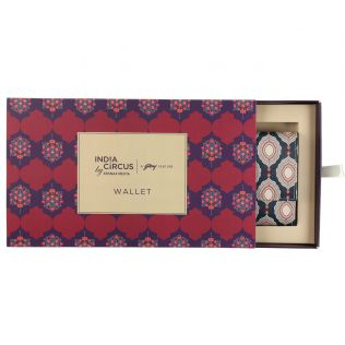 India Circus Curved Mirror Creeper Ladies Wallet