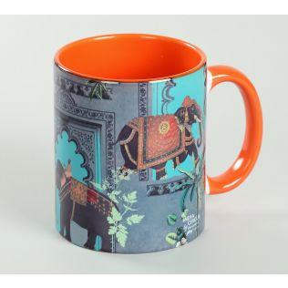 India Circus Elephanta Charade Coffee Mug