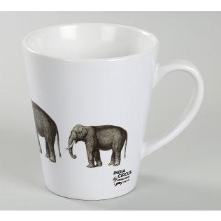 India Circus Gentle Mastodon Coffee Mug
