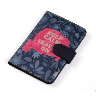 India Circus Keep Calm Passport Cover