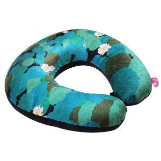 India Circus Lotus Leaf Reservoir Neck Pillow