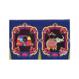 India Circus Magical Window Visiting Card Holder