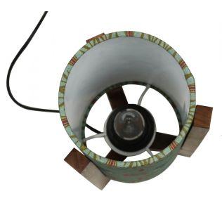 India Circus Mirroring Deer Garden Cylindrical Lamp