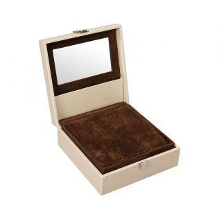 India Circus Palmeria Bloomer Leather Jewellery Box