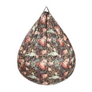 India Circus Passerine Calling Bean Bag Cover