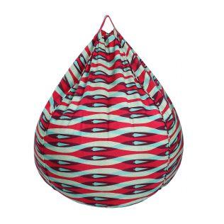 India Circus Pine Twist Bean Bag Cover