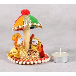 India Circus Rajah Rani Tea Light Holder