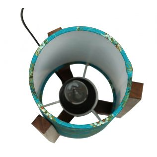 India Circus Robin Bird Park Cylindrical Lamp