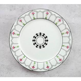 India Circus Rosa Eden Elizabeth Dinner Plate