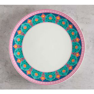 India Circus Rose Creeper Dinner Plate
