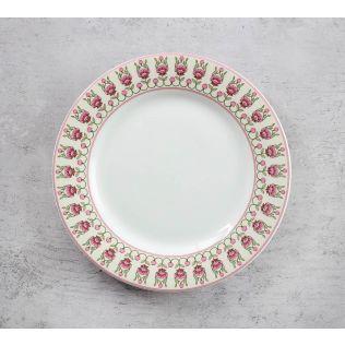 India Circus Rose Mallow Moscheutos Quarter Plate