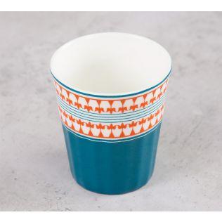 India Circus Swirling Safari Chai Glass (Set of 6)