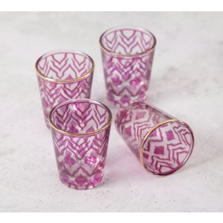 India Circus The Morning Glory Shot Glass (Set of 4)