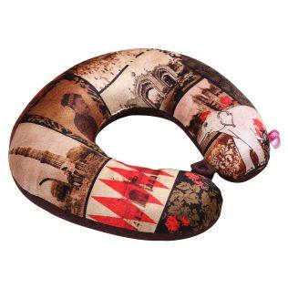 India Circus The Mughal Era Neck Pillow