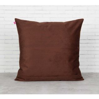 India Circus Tiled Lotus Extravaganza Blended Velvet Cushion Cover