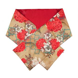 India Circus Trapped Dahlia Bed and Table Runner