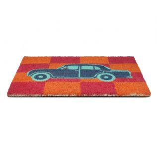 India Circus Vintage on Wheels Doormat