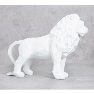 India Circus White King of Beasts Figurine
