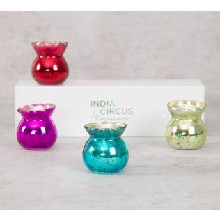 India Circus Yankee Jar Votives Gift Box (Set of 4)