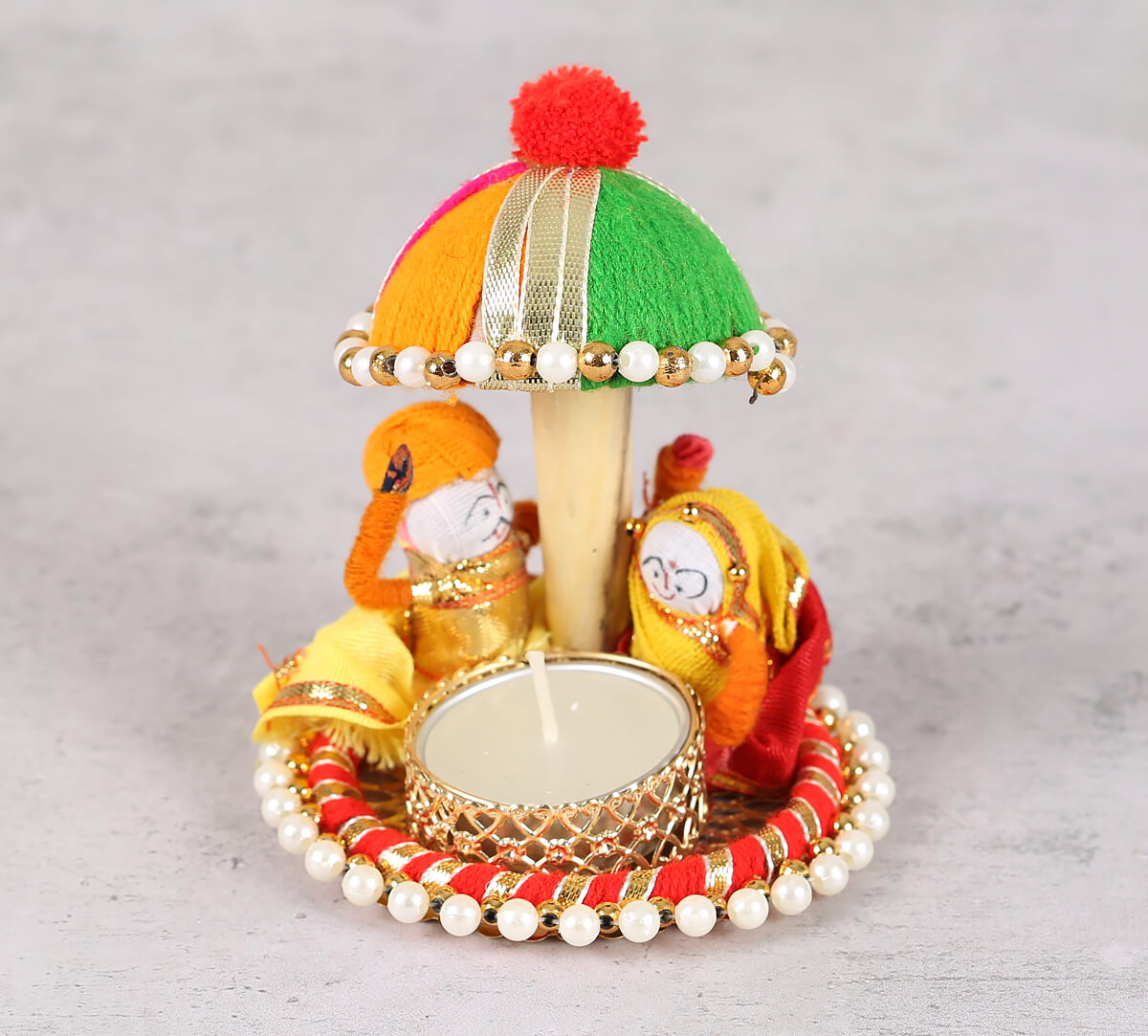 Rajah Rani Tea Light Holder