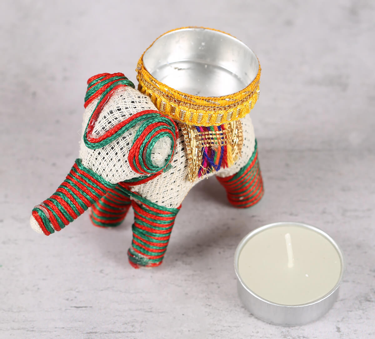 Tusker Tea Light Holder