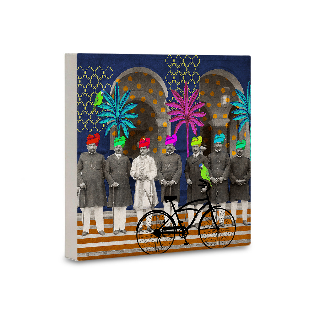 guards of honor canvas mounted wall art
