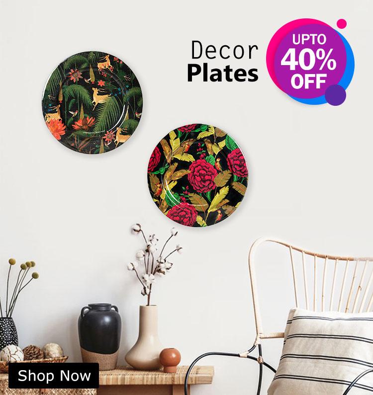 Buy decor Plates Online